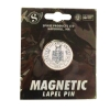 PIN SEAL MAGNETIC LAPEL