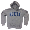 EIU Gray Hooded Sweatshirt