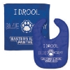 BIB CLOTH SET PAW DROOL