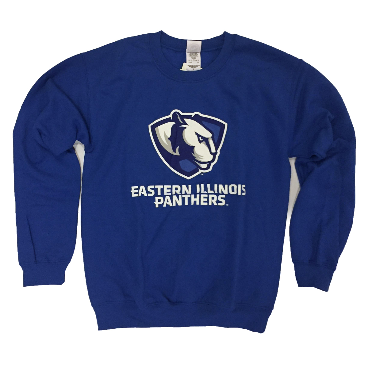 Crew Sweatshirt Panther Logo Eastern Illinois