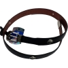 EIU LEATHER BELT BLACK/BROWN- 50% OFF WAS $63.99 NOW $32.00!