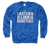 EIU BASKETBALL CREW SWEATSHIRT ROYAL