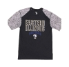 TEE EASTERN ILLINOIS PANTHERS HEATHER PATTERN/BLK