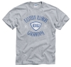 Eastern Illinois Grandpa Tee Shirt - Gray