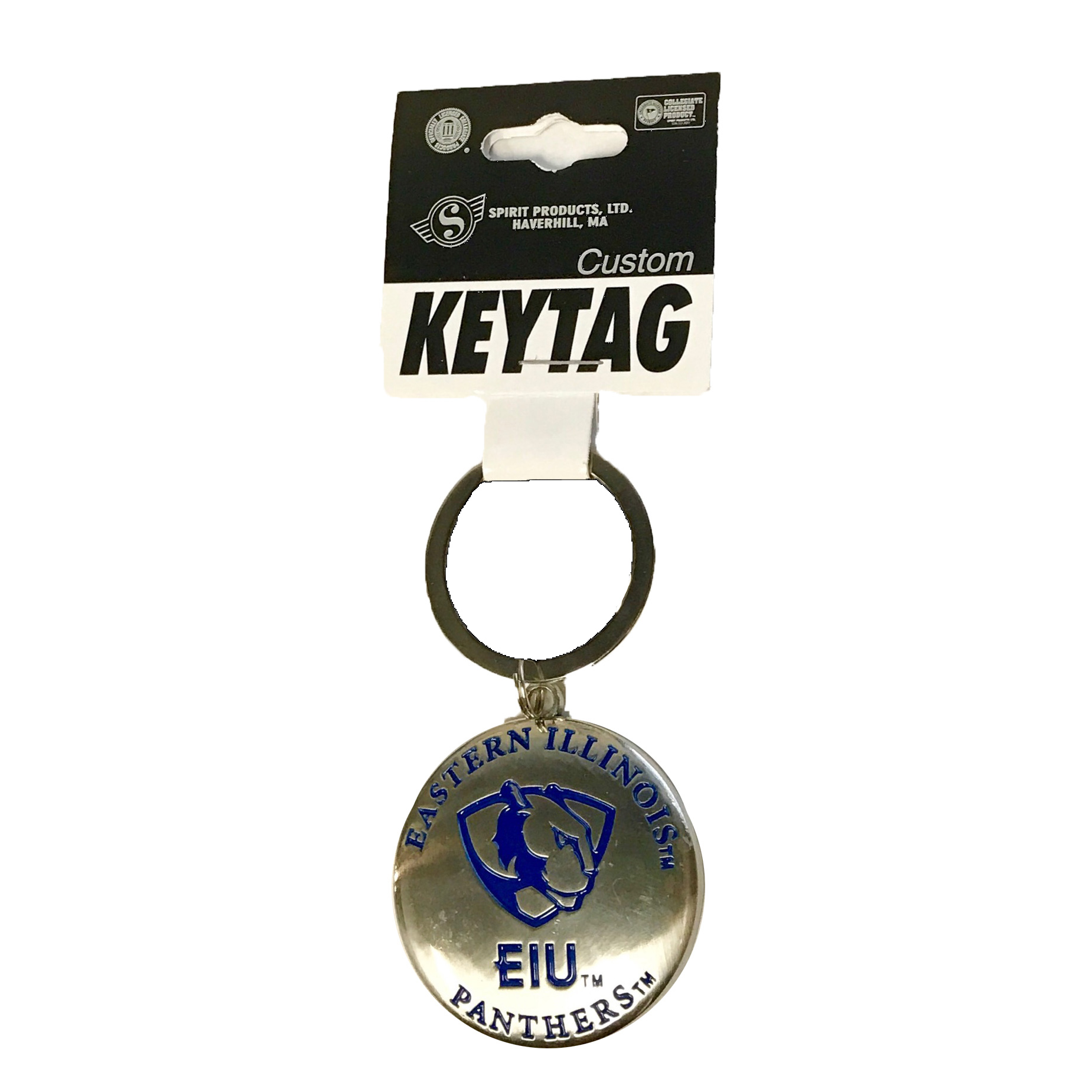 EI - PL - EIU PANTHERS Key Chain