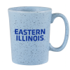 Eastern Illinois Speckled Bistro Mug