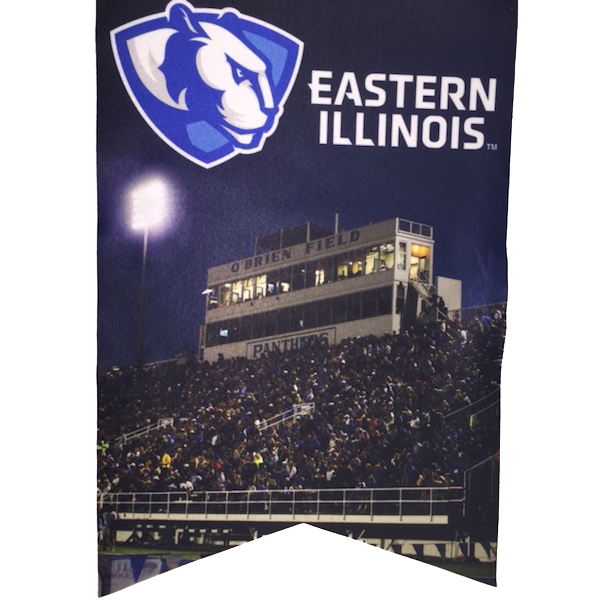 Image For Eastern Illinois Stadium Banner 17X26
