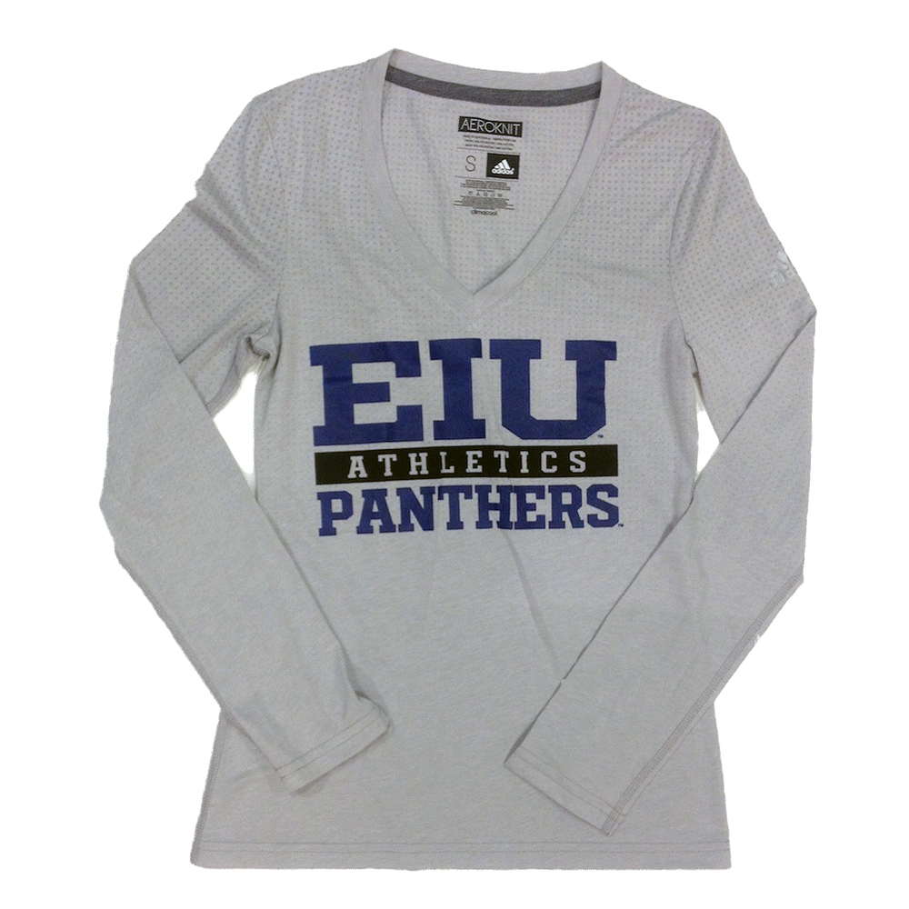 Image For Women's EIU Athletics Panthers LS Tee - Adidas