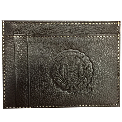 Image For ID CARD CASE BROWN SEAL