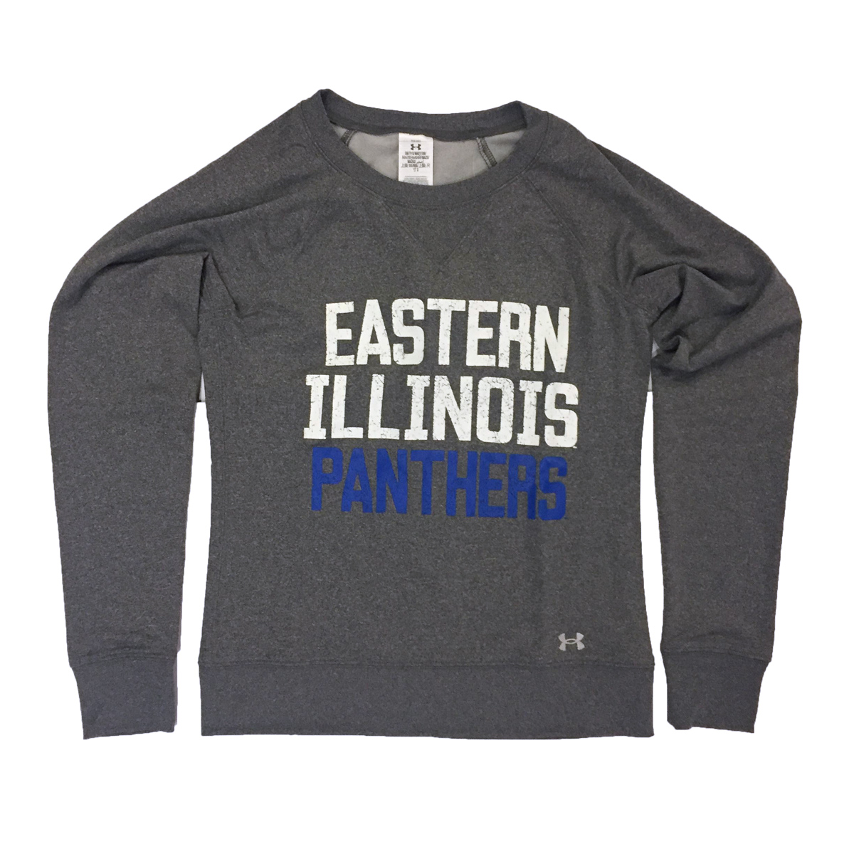 Image For Eastern Illinois Panthers Crew - Under Armour - Grey