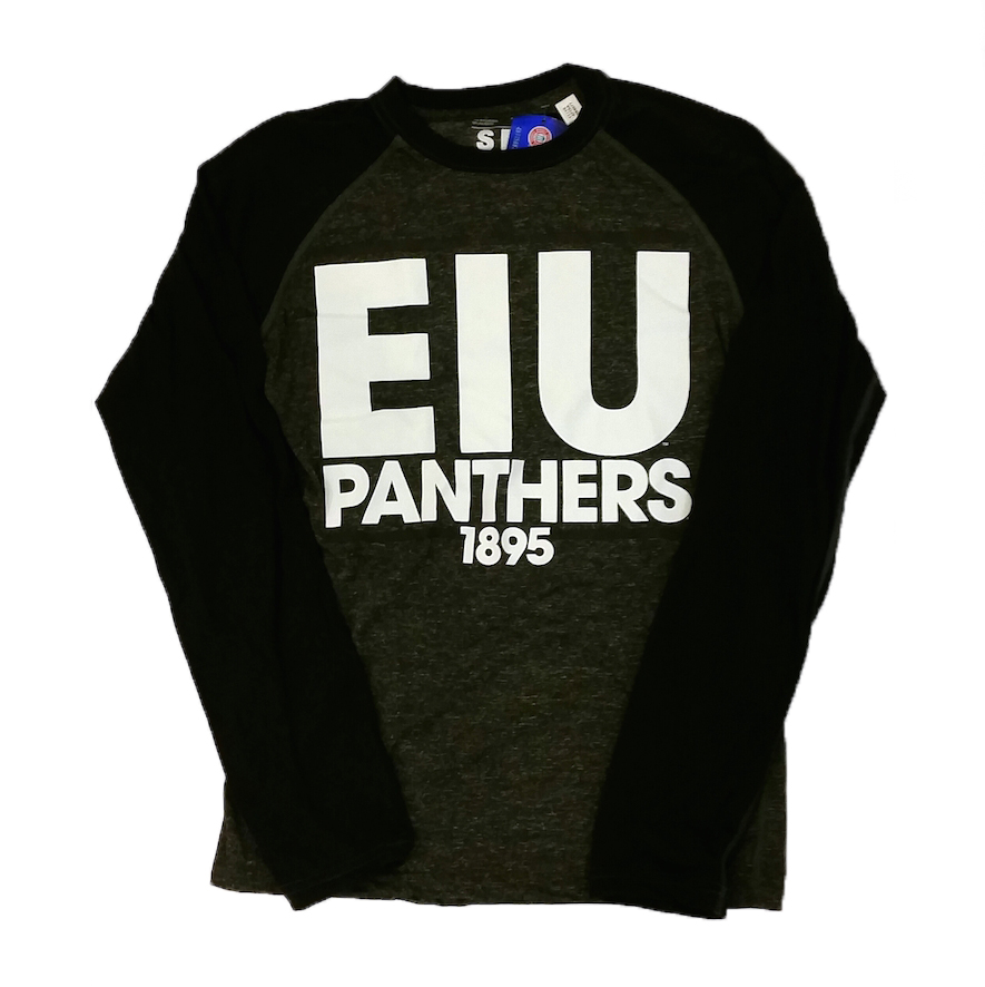 Image For EIU Panthers LS Tee - Black