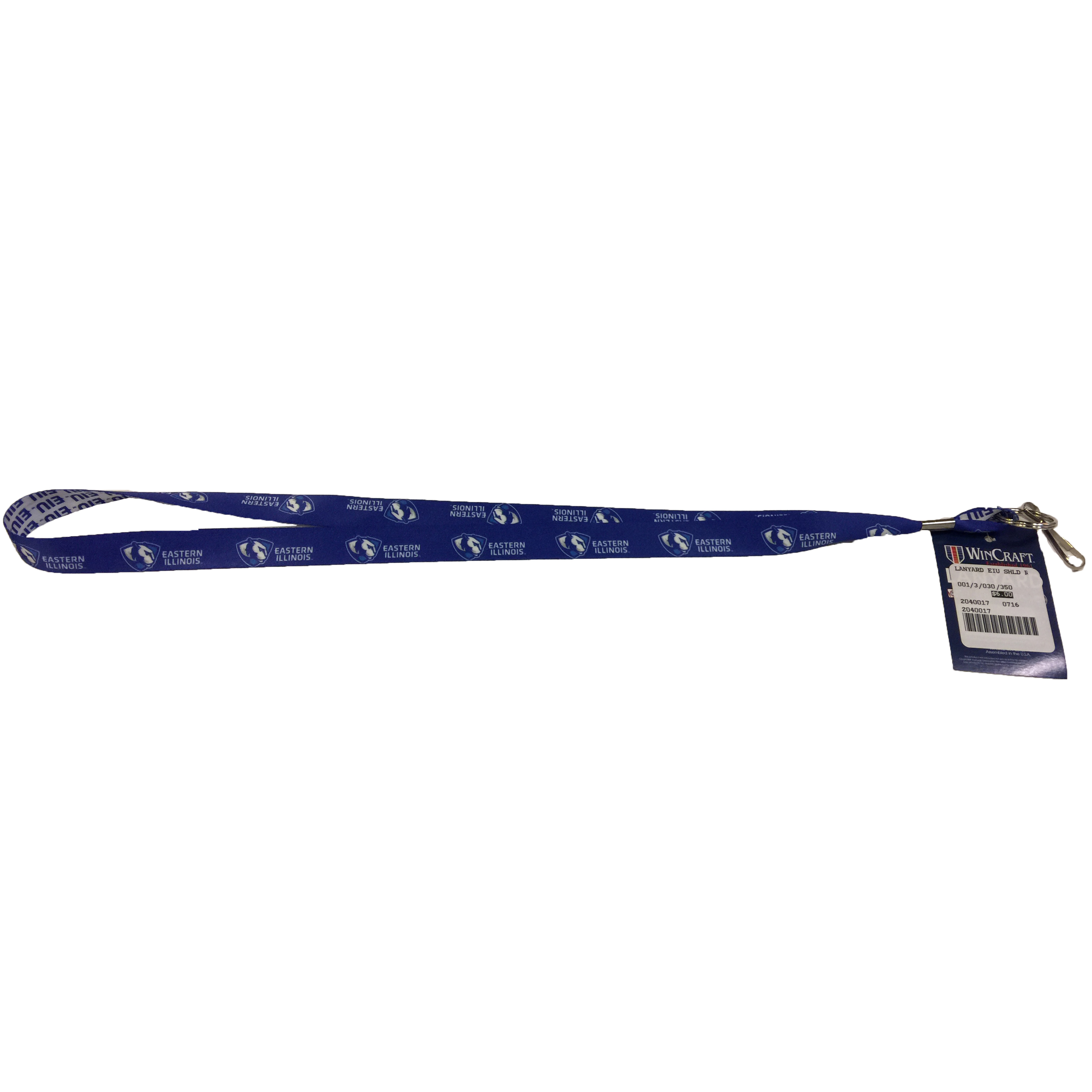 Image For Eastern Illinois Shield Lanyard