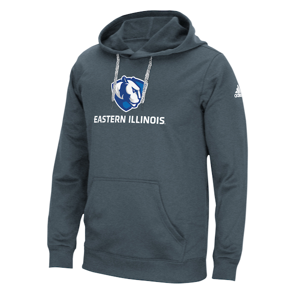 Image For Adidas Eastern Illinois PL Gray Hoodie