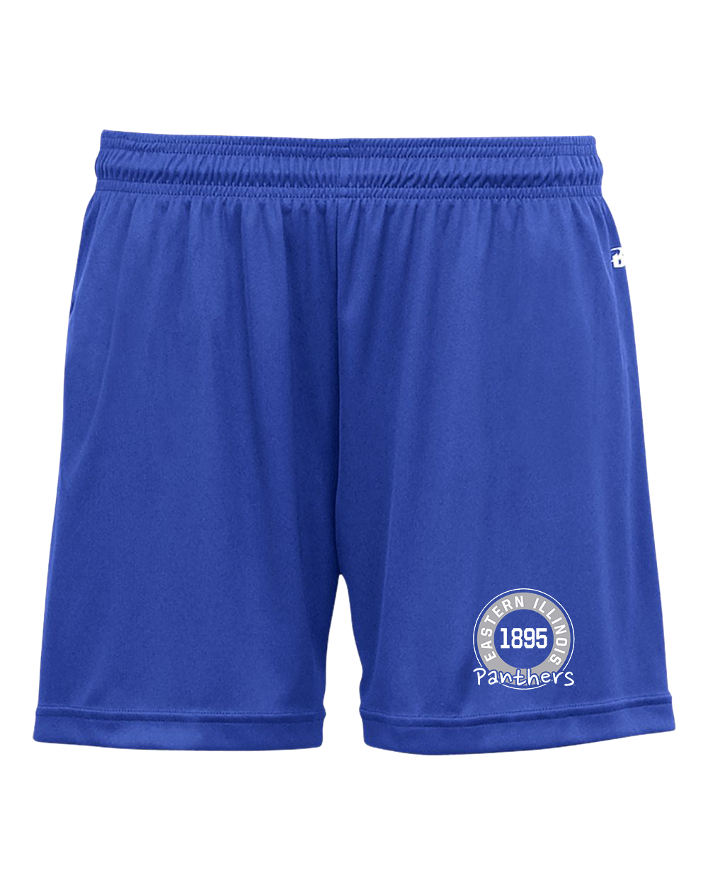 Image For Women's Eastern Illinois Panthers Royal Shorts