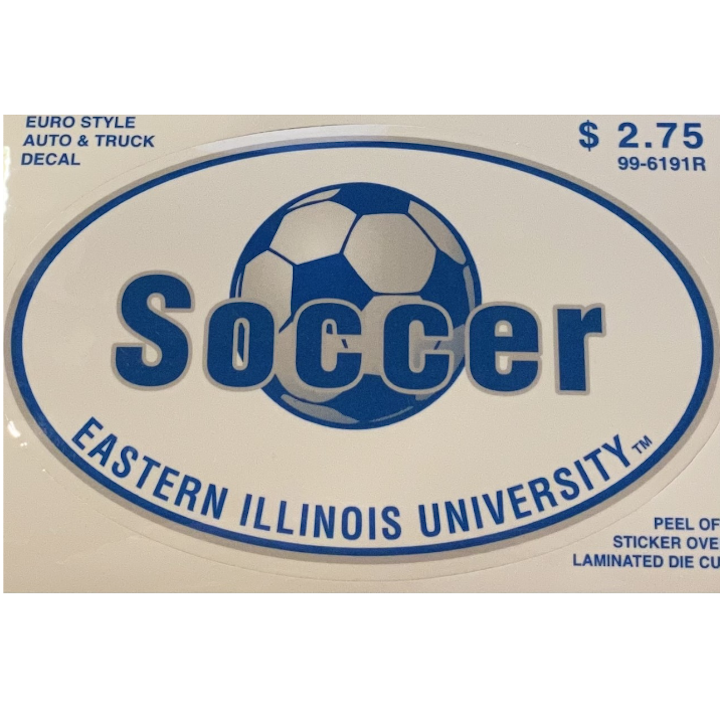 Image For Eastern Illinois University Soccer Decal