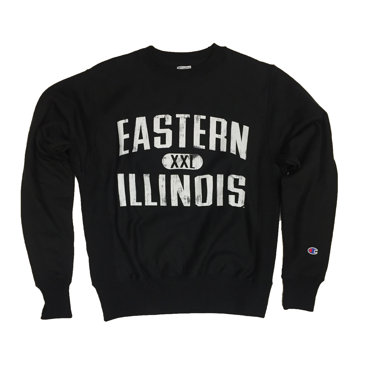 Image For Eastern Illinois Black Fleece Crew