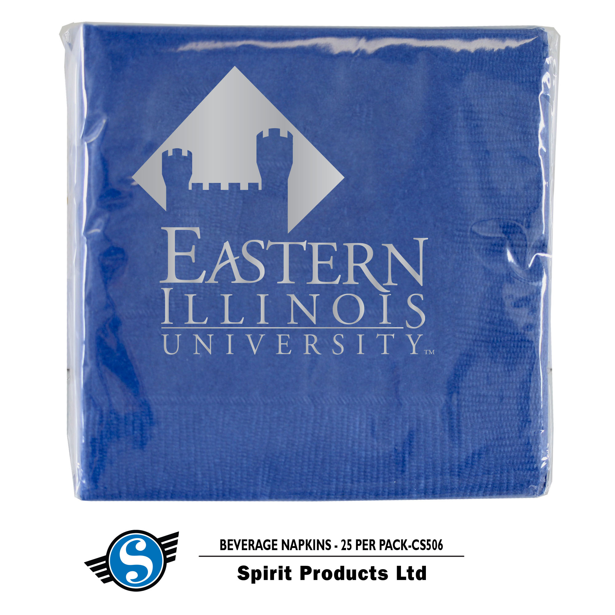 Image For NAPKIN beverage 25pkg EIU Castle