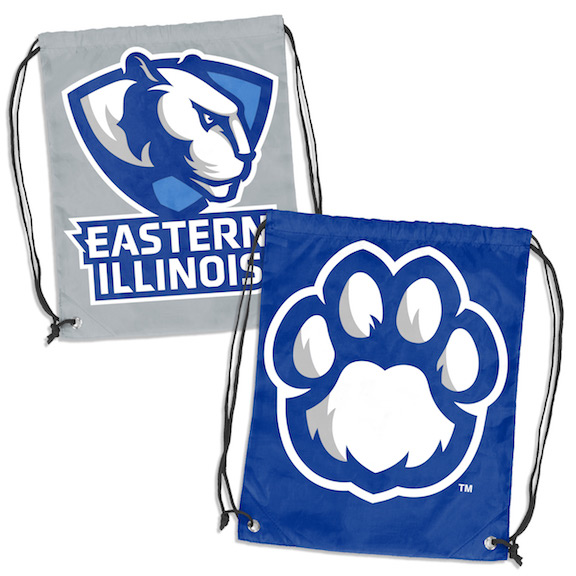 Image For EIU DOUBLE HEADER DRAWSTRING BACKSACK