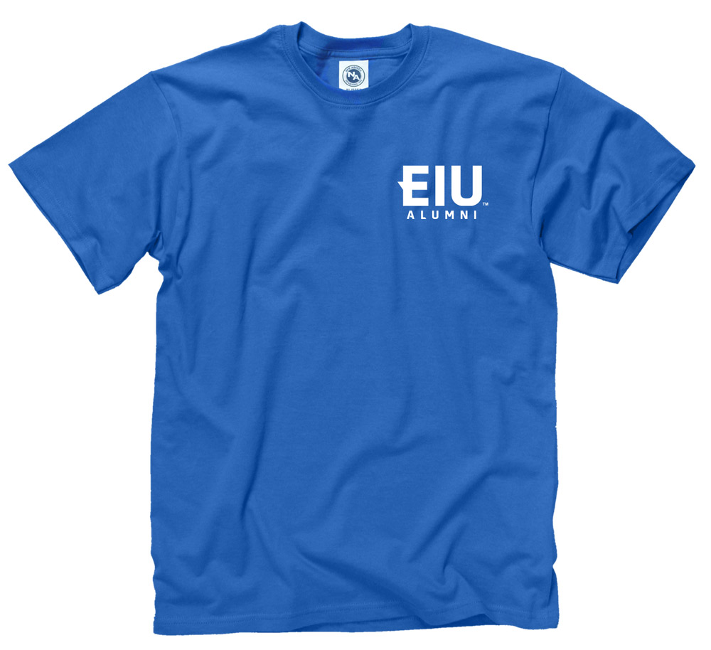 Cover Image For Blue EIU Alumni Short Sleeve