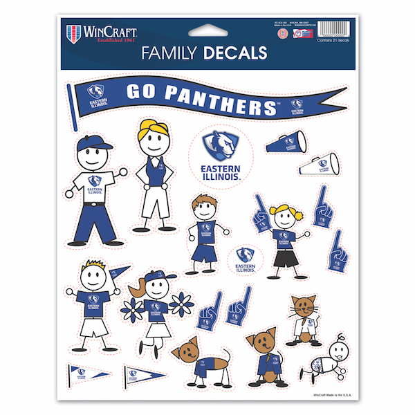 Image For EIU FAMILY DECAL SHT