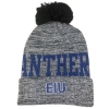 Image for HAT W/POM EIU BK/GY