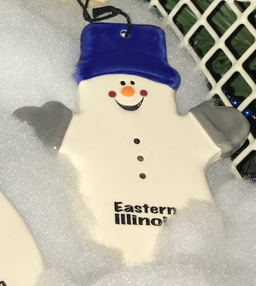Image For ORN SNOWMAN W/MITTENS