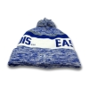 Cover Image for Eastern Illinois Panther Logo Royal/White Sock Hat W/Pom