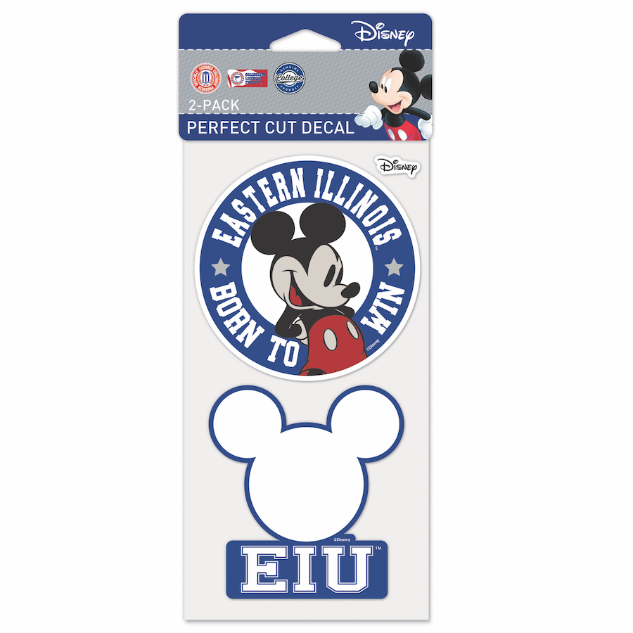 Image For 2 PK DECAL MICKEY/EIU