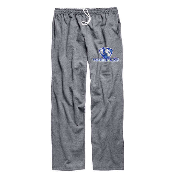 Image For EASTERN ILLINOIS PANTHER LOGO GREY SWEATPANTS