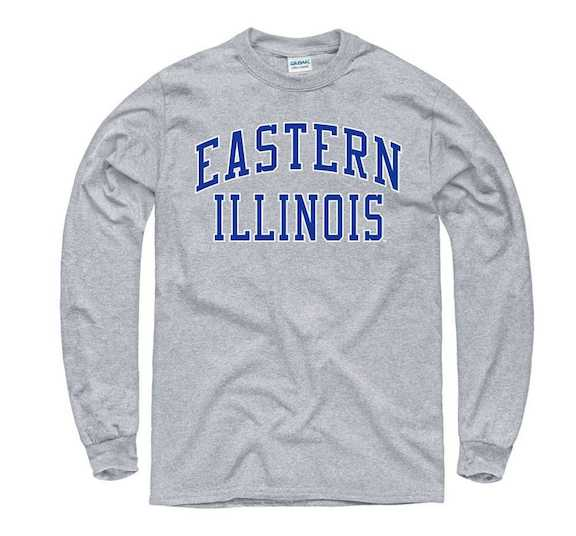 Image For LONG SLEEVE EASTERN ILLINOIS GRAY