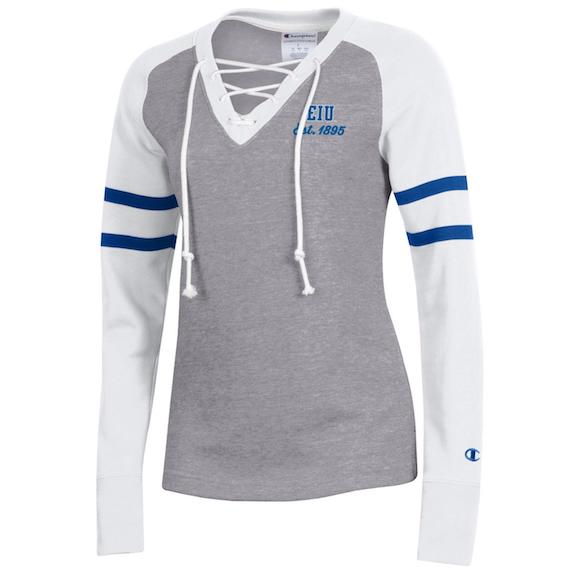 Image For GRAY WOMEN EIU EST1895 JERSEY