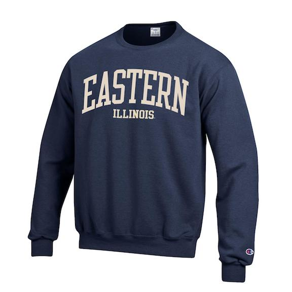 Image For Eastern Illinois Embroidered Crew