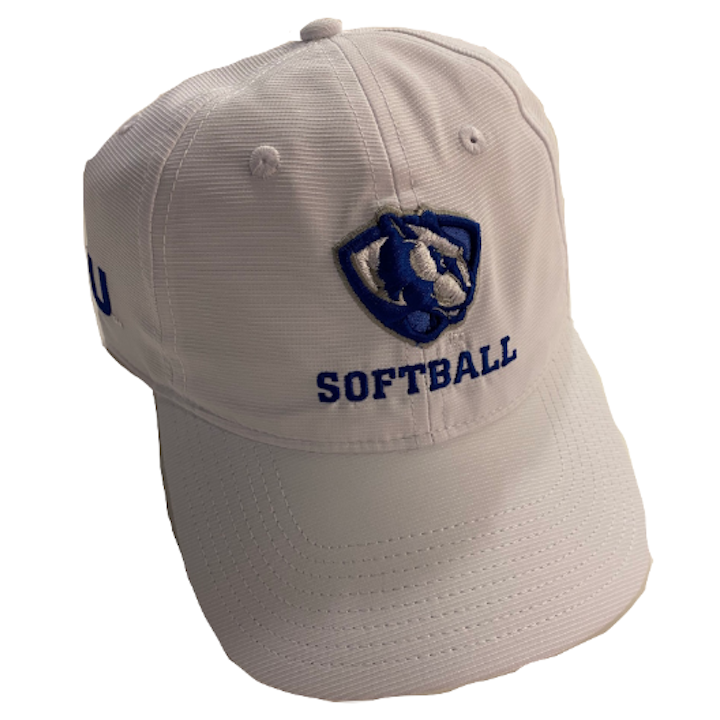 Image For Adidas White Softball Hat