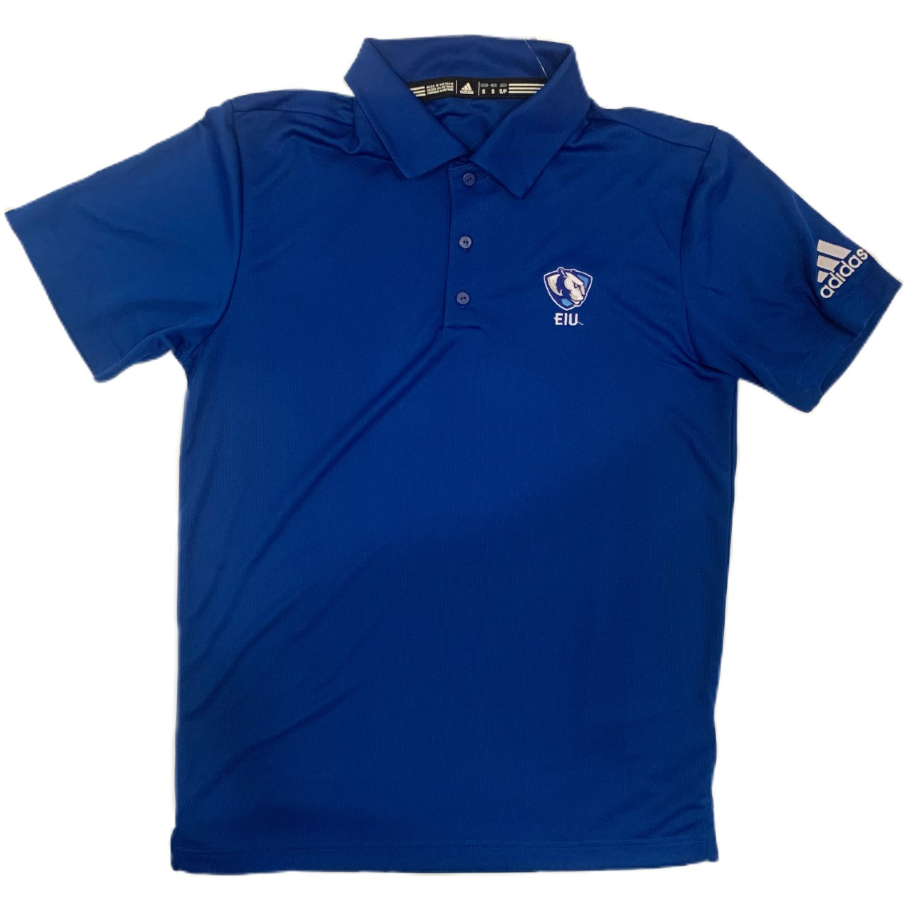 Image For Adidas Royal EIU Panther Logo Polo